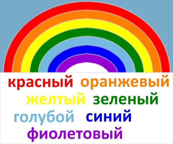 Радуга фото цвета по порядку