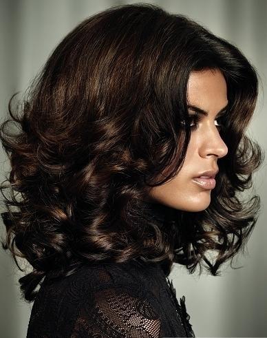 цвет волос темный коричневый фото