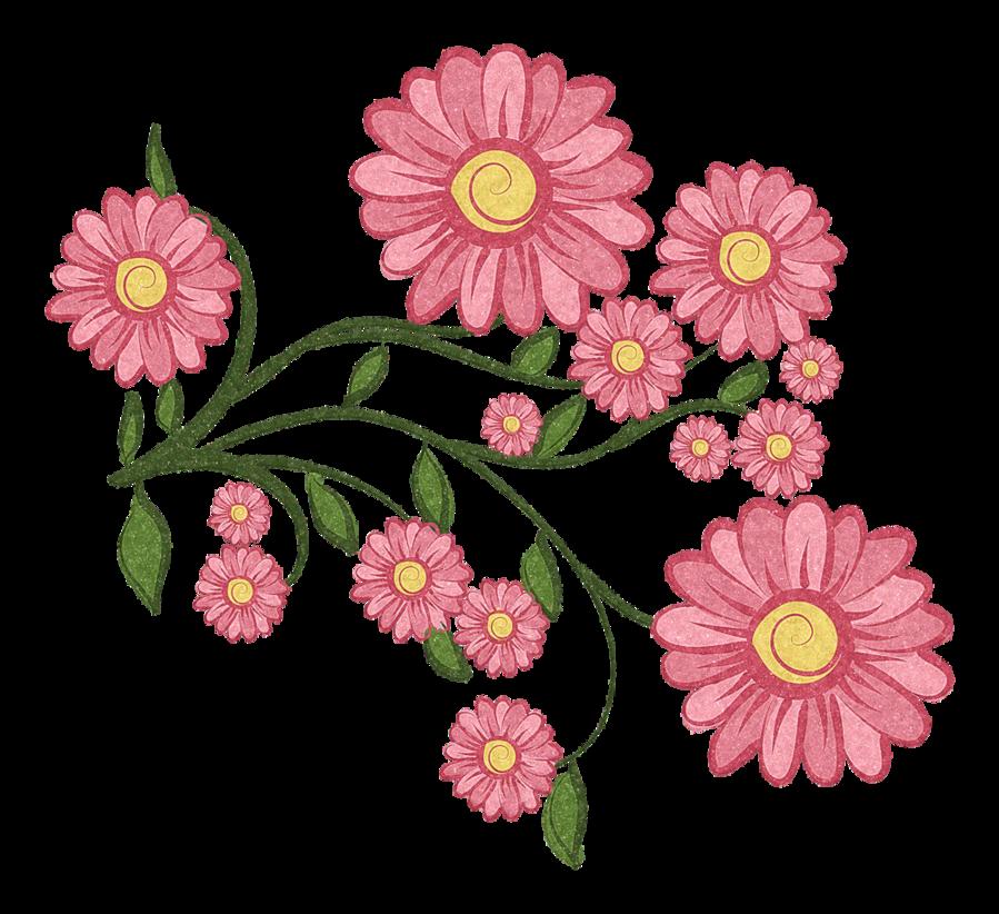 Красивые рисованные цветы картинки » DreemPics.com - лучшие фото ...