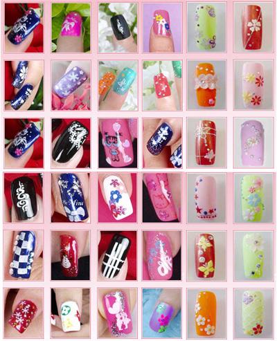 Как сделать картинку на ногтях