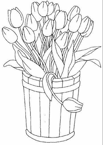 Цветы угловые картинки 5