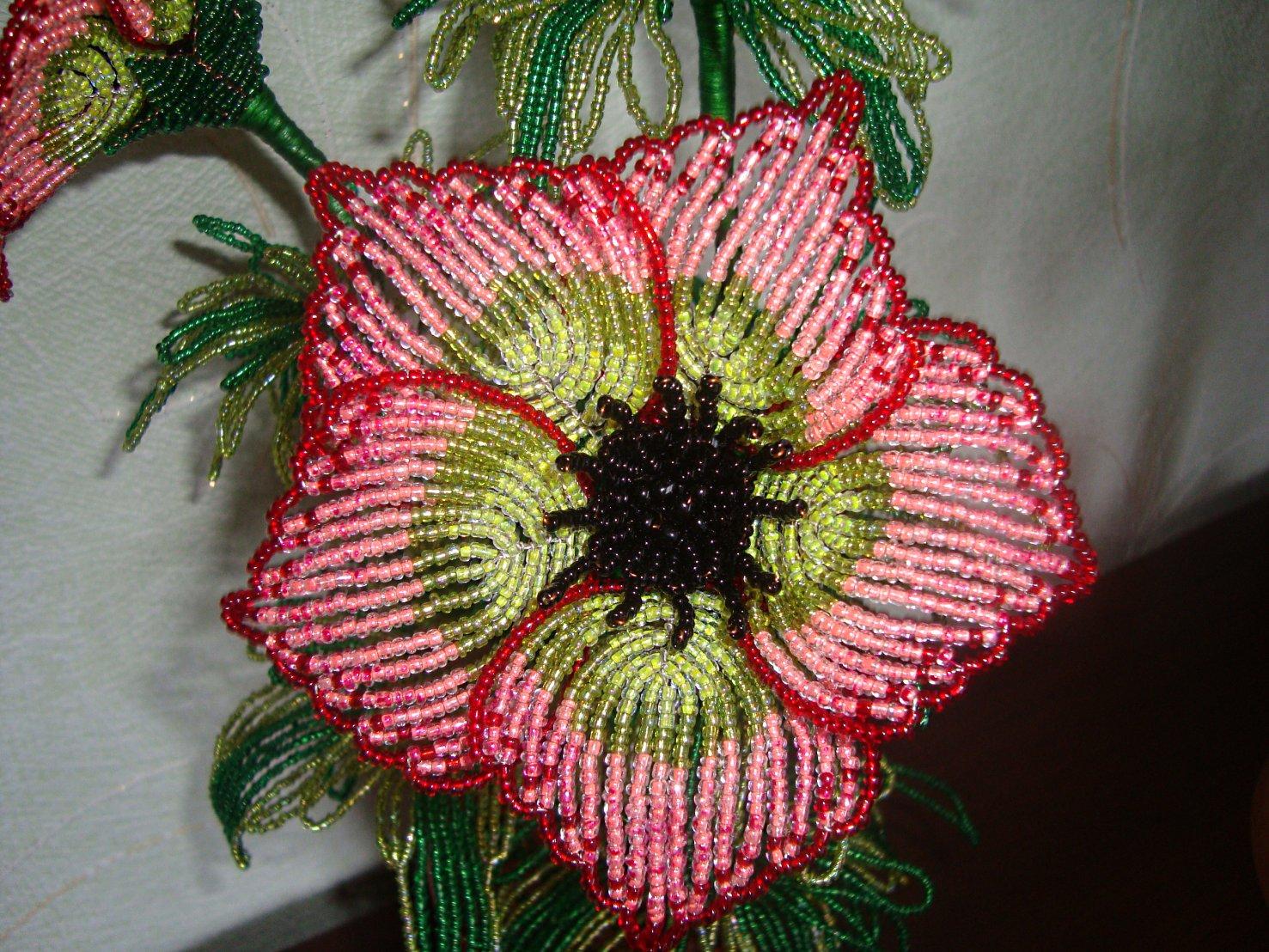 плетение цветов из бисера фото. плетение цветов из бисера фото 4.
