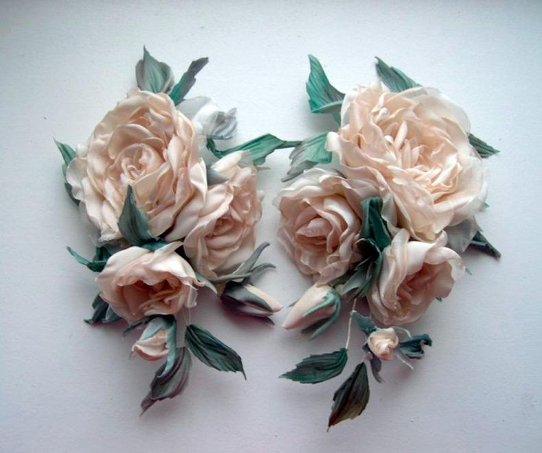 Искусственные цветы своими руками фото 204