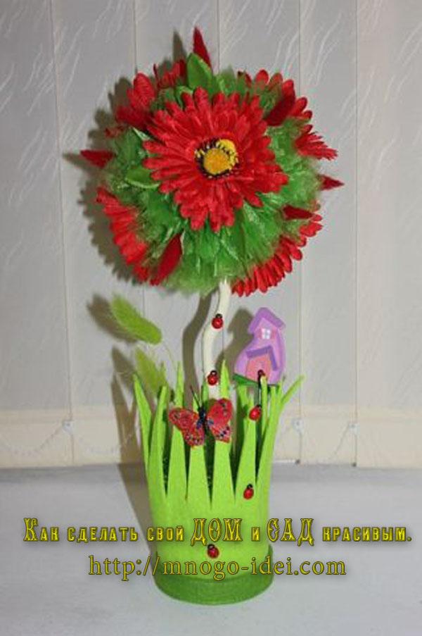 Искусственные цветы своими руками фото 387