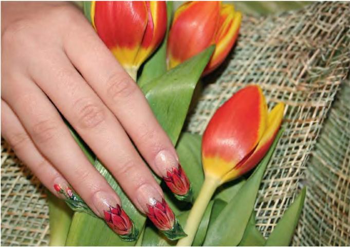 Цветы на ногтях картинки » DreemPics.com - картинки и ...