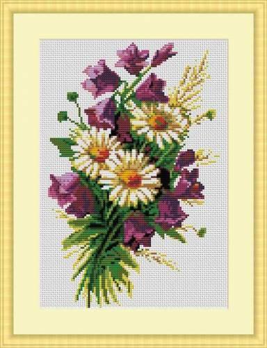 Картинки для вышивки цветы 11