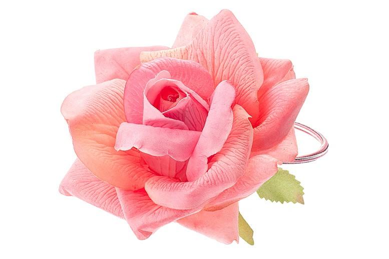 Цветок резинка для волос