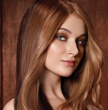 Коричневый светлый цвет волос