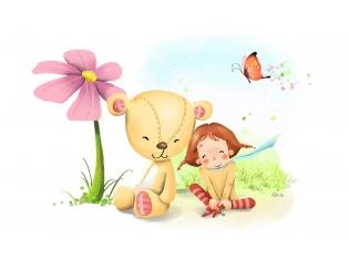 Картинка ромашка для детей раскраска 163