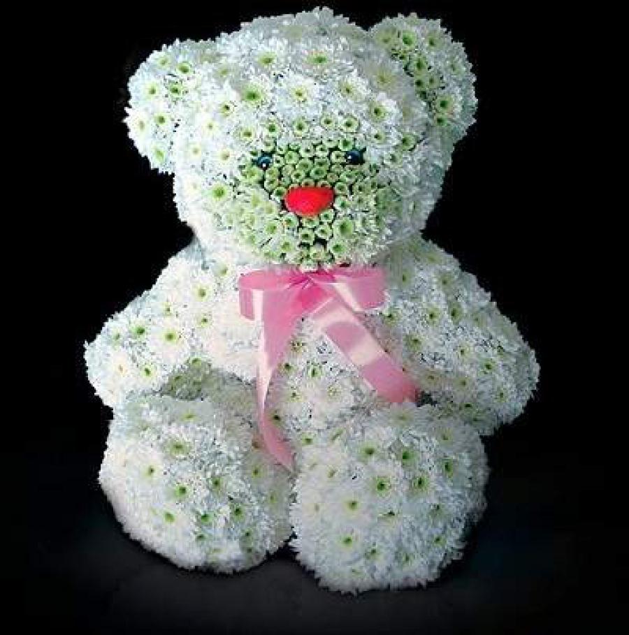Фигурки из цветов в подарок