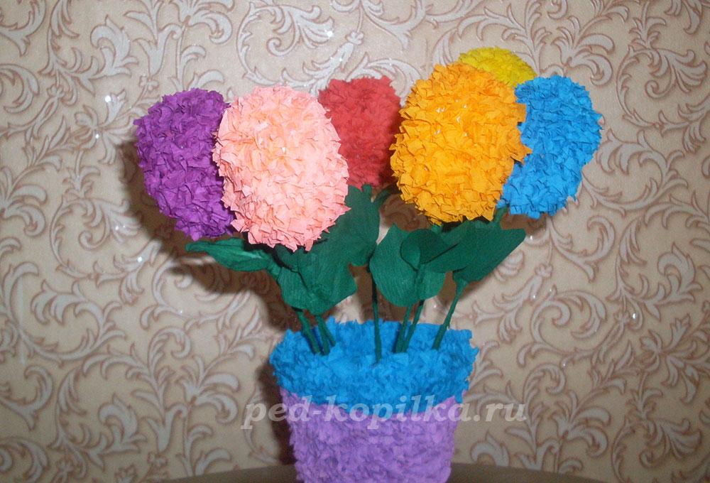 Цветы своими руками 2 класс