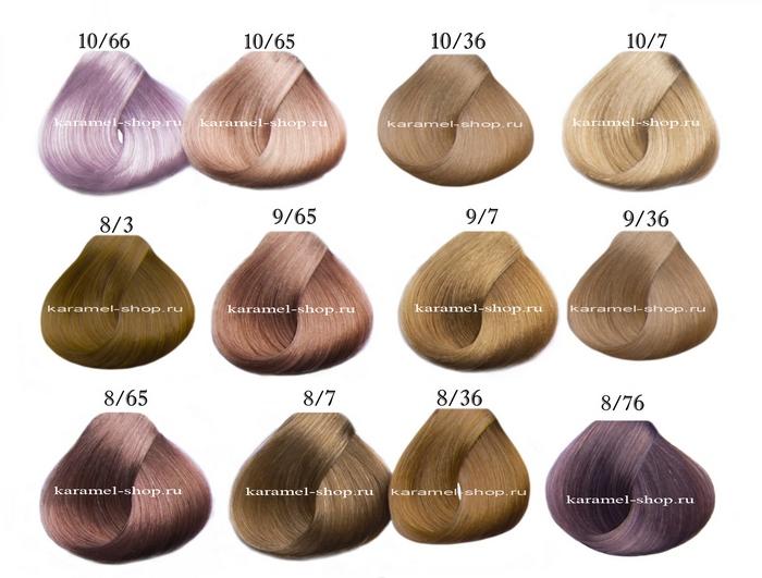 Палитра цветов краски для волос эстель профессионал палитра фото