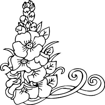 Графика картинки черно белые цветы ...: dreempics.com/flowers/2918-grafika_kartinki_cherno_belee_tsvete.html