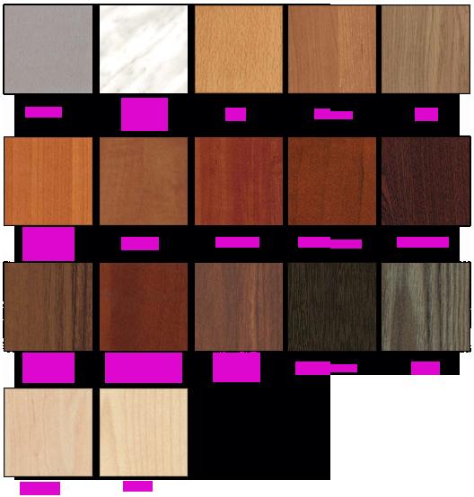 Цвет мебели орех миланский