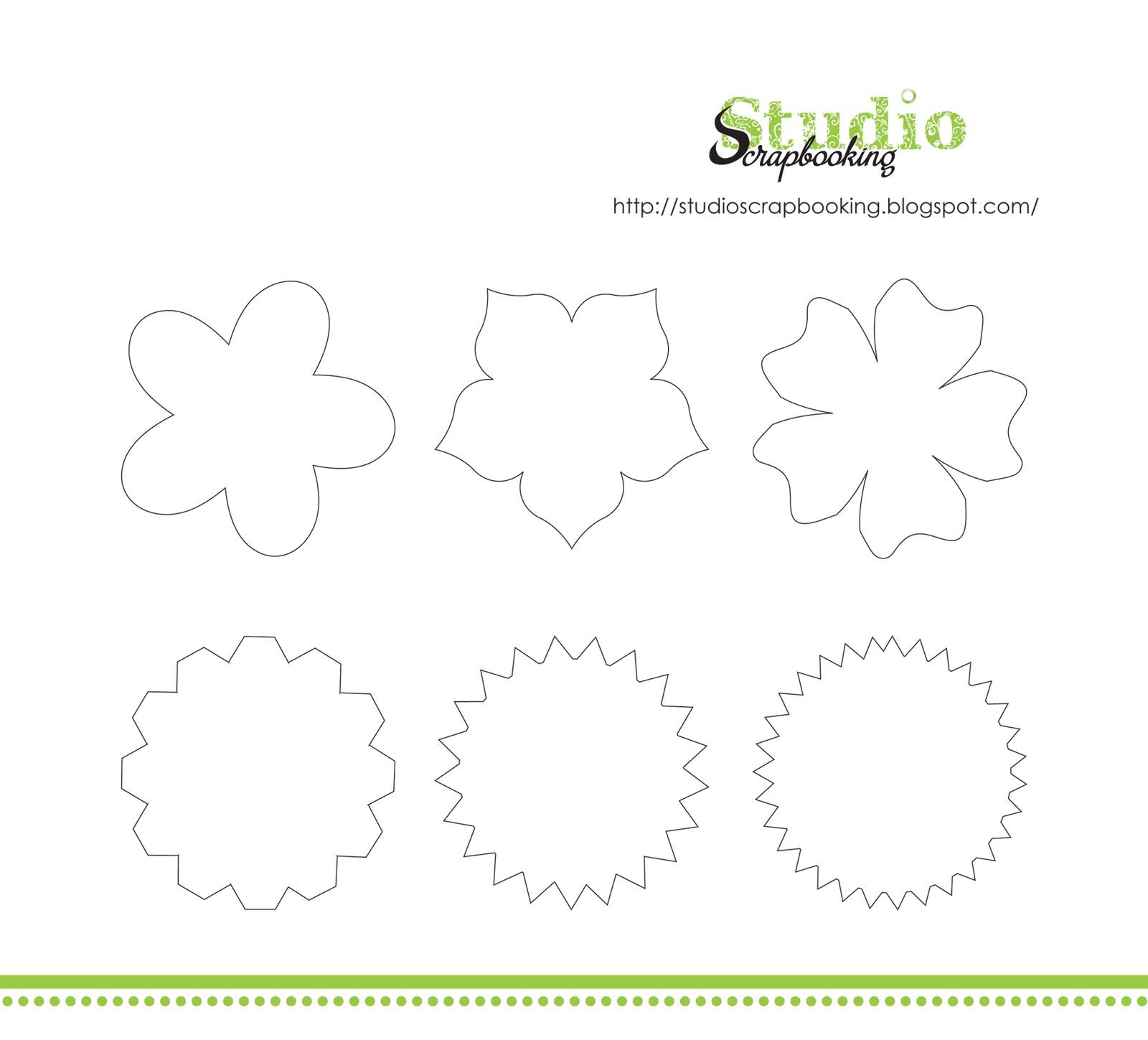 Цветы для открытки шаблоны