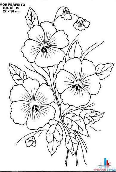 Вышивка цветы фото 6