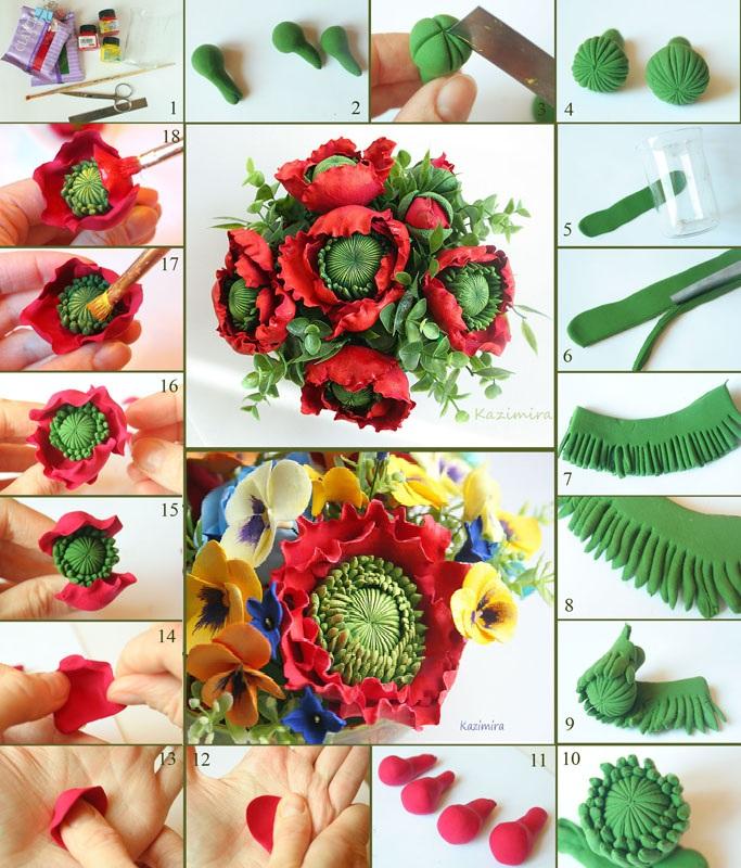 Бордовые цветы фон