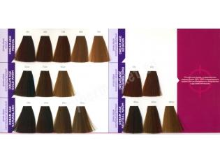 Краска для волос, matrix матрикс гамма цветов, фото на волосах