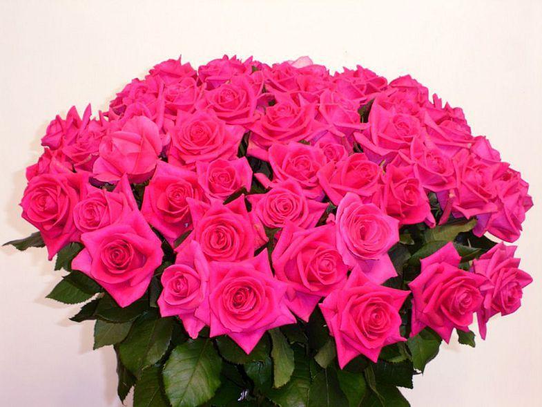 Букет роз с поздравлением дня рождения фото 28
