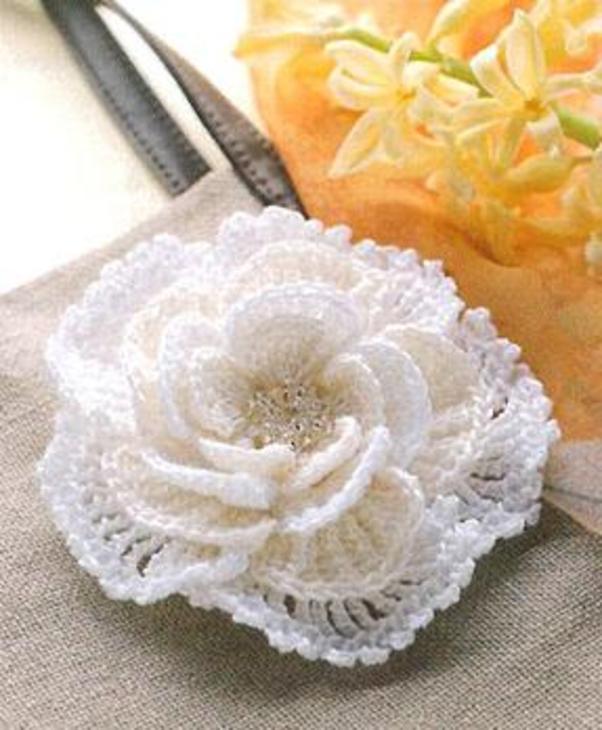 Цветы крючком фото 2