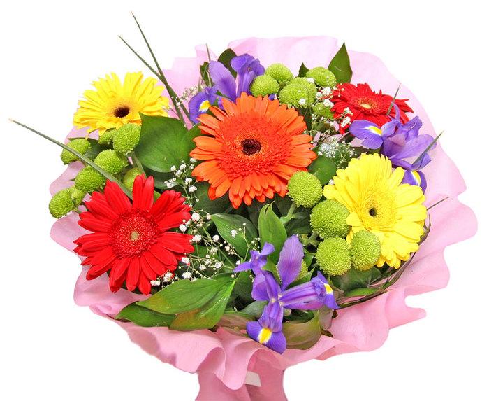Скачать бесплатно картинки букеты живых цветов 15