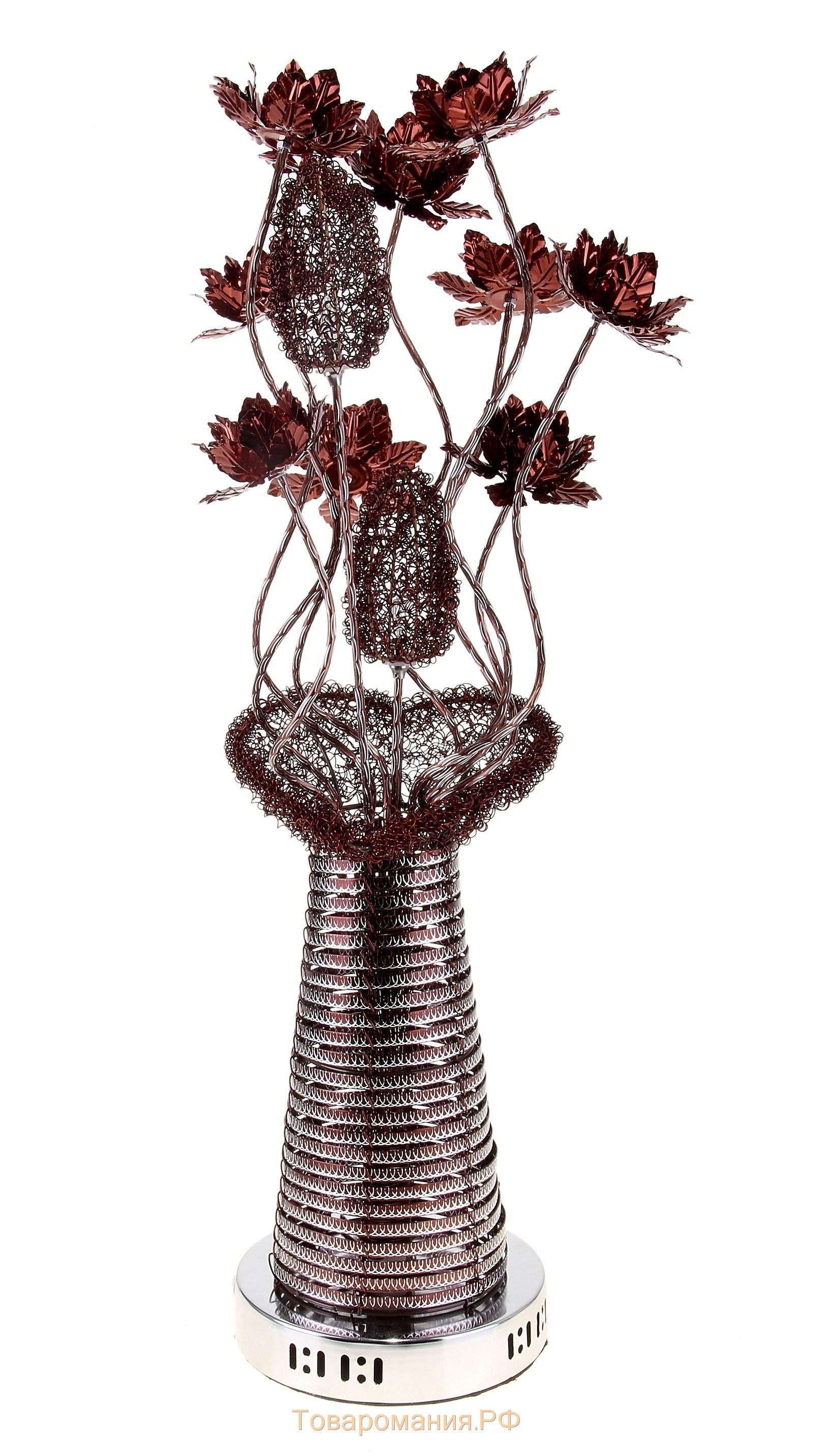 Как сделать напольную вазу светильник