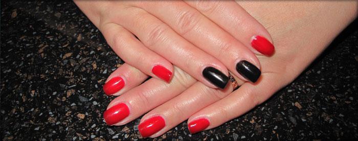 Фото как красить ногти модно
