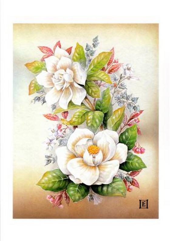 Картинки цветов нарисованные детские