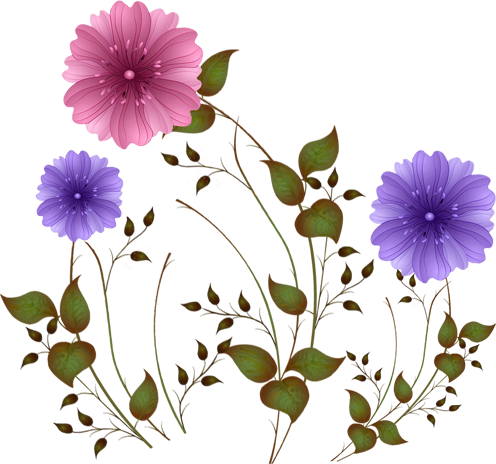 Картинки цветы анимация на прозрачном фоне