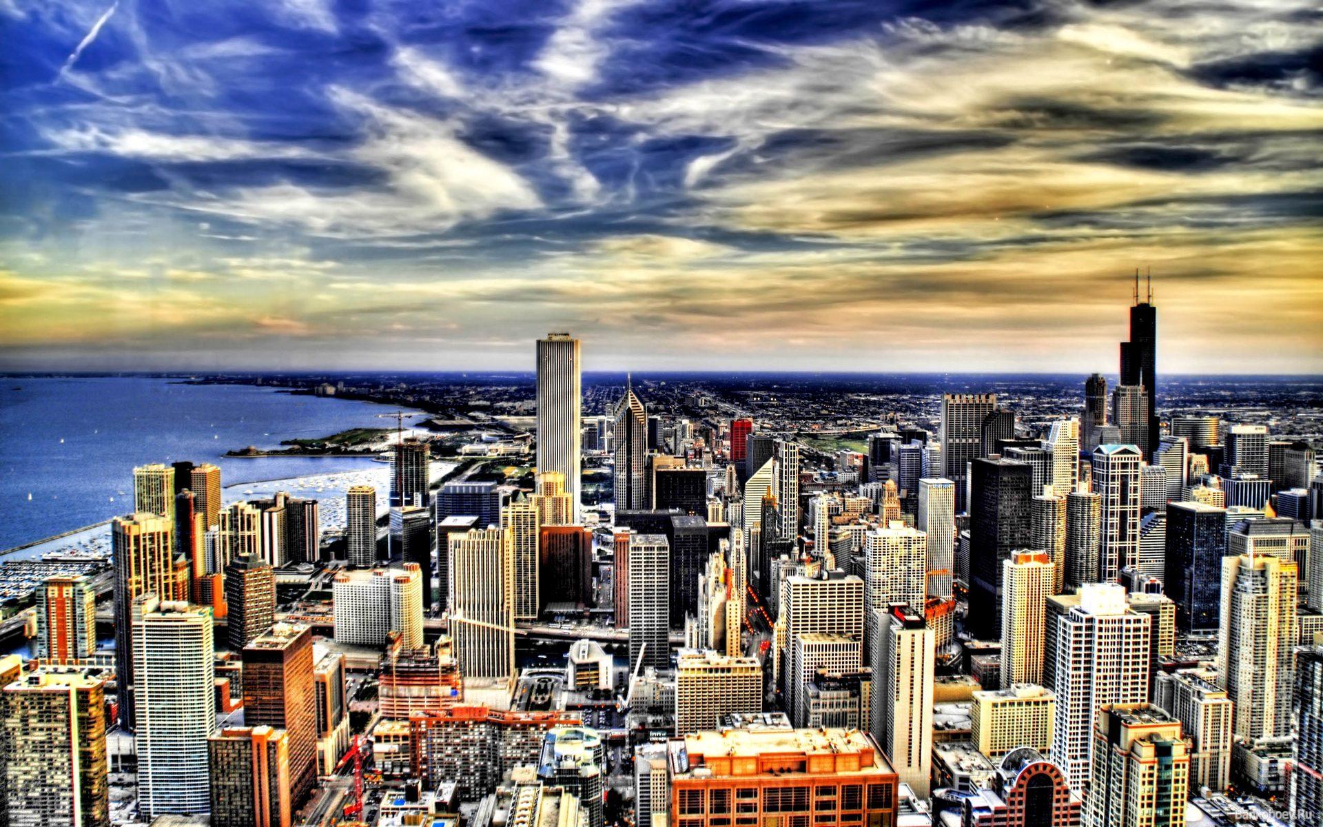 фотографии городов большого разрешения
