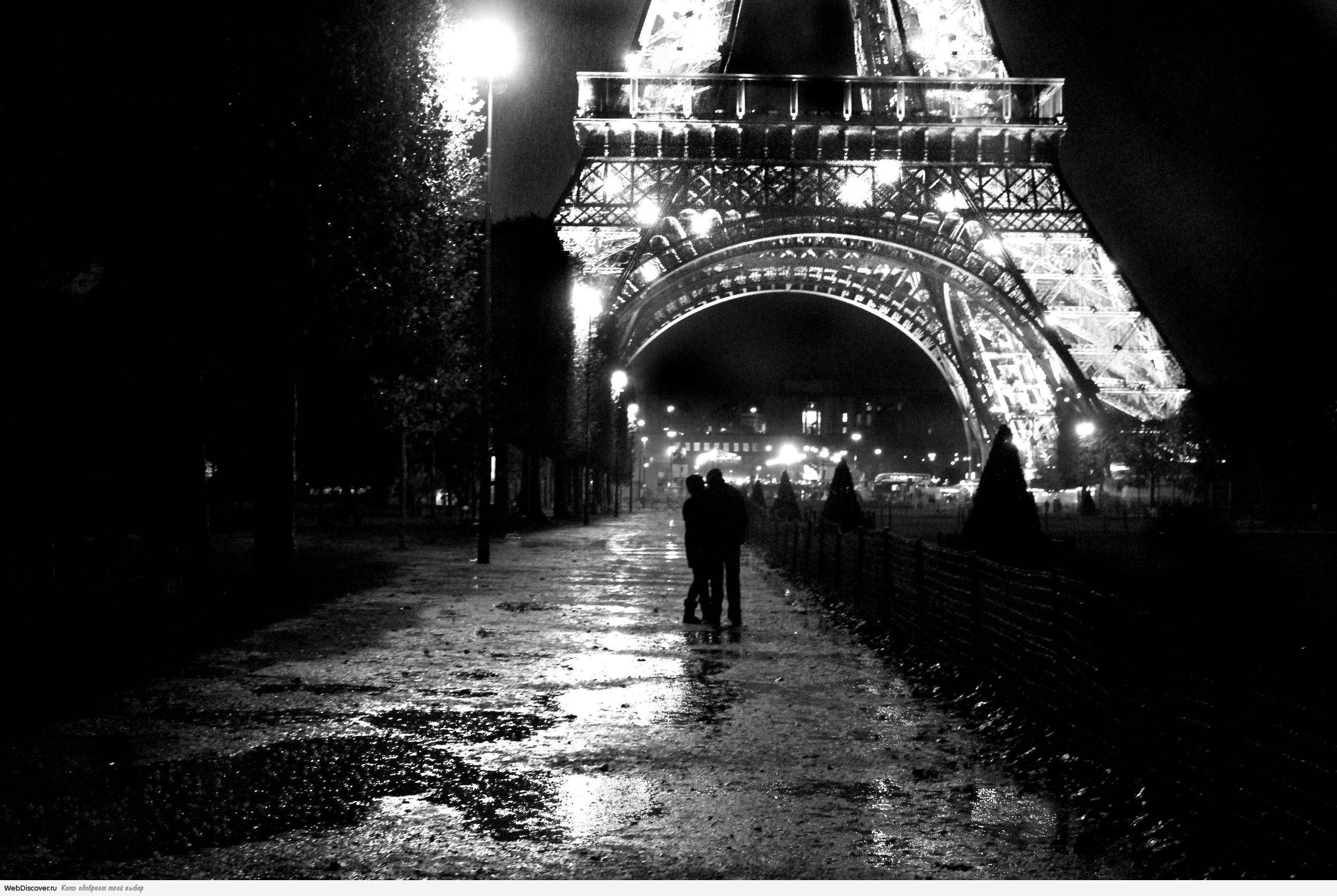 города черно белые фото