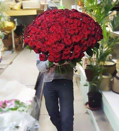 Большой букет цветов фото