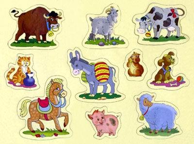 Домашние животные сказка для малышей.