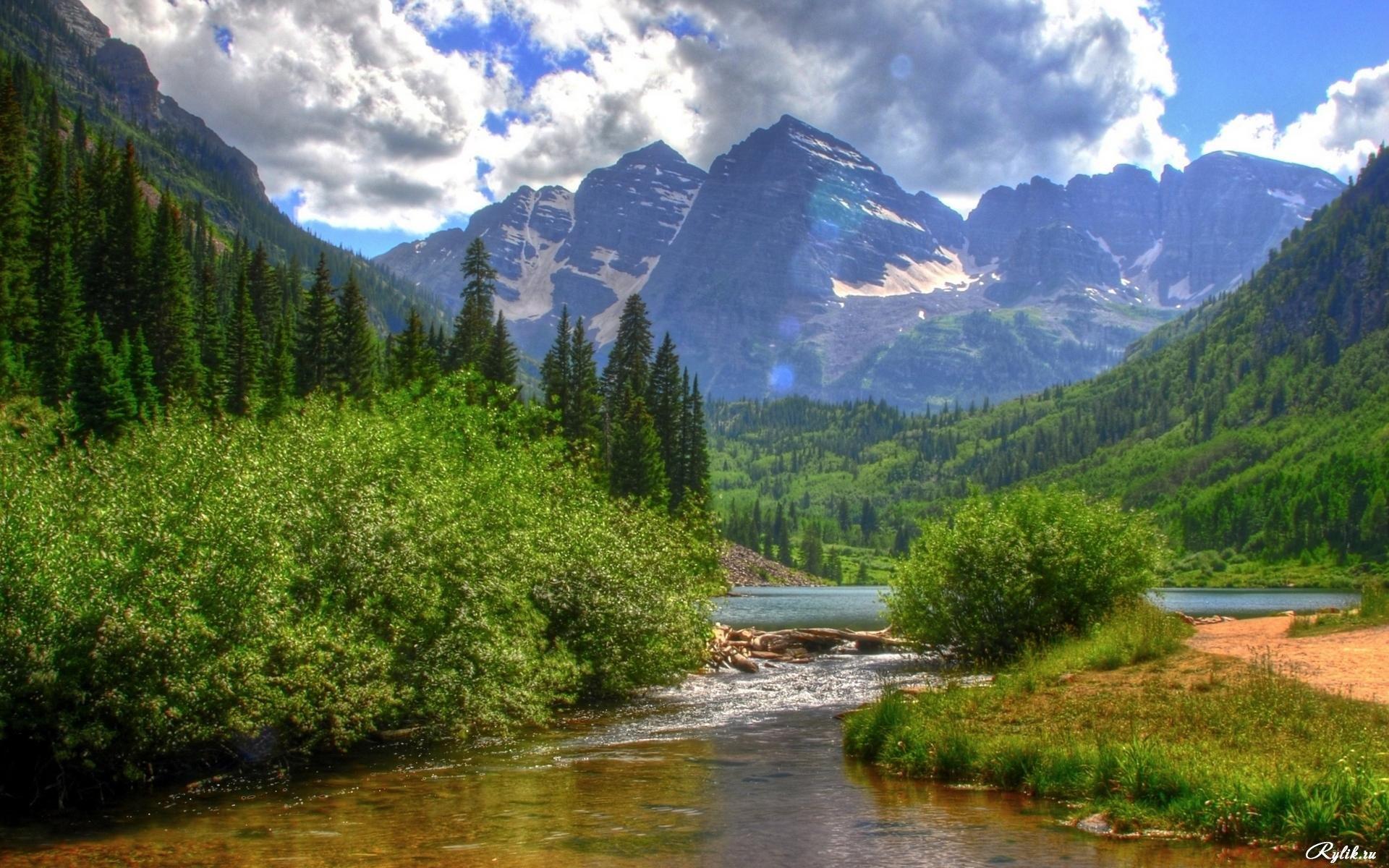 Фото природы высокого качества лето