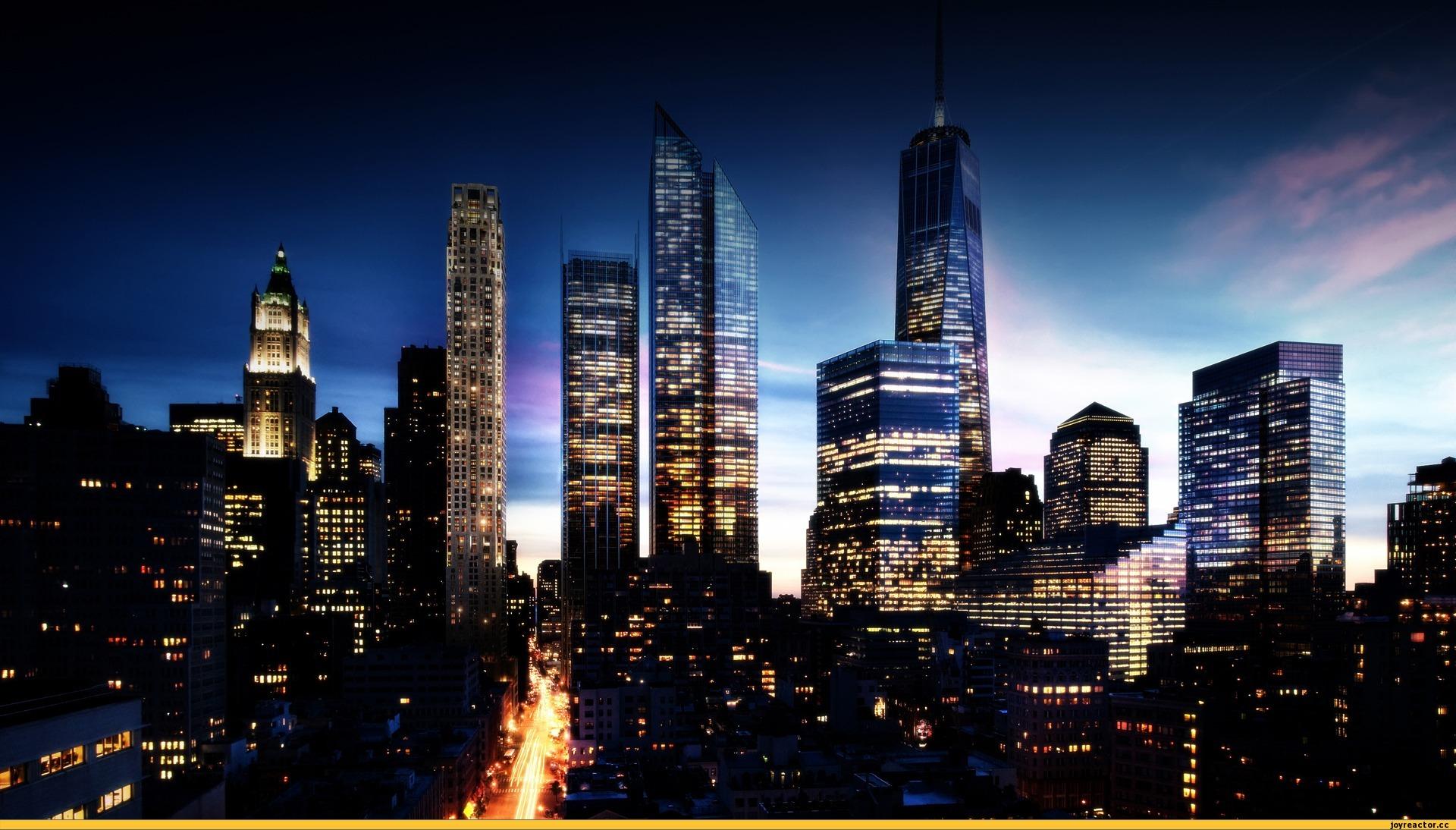 Ночной город рисунок фото