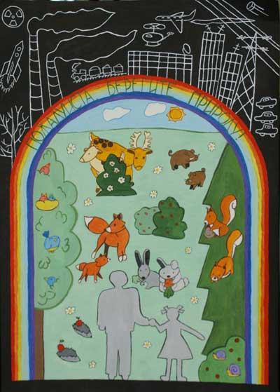 Рисунки животных на плакат