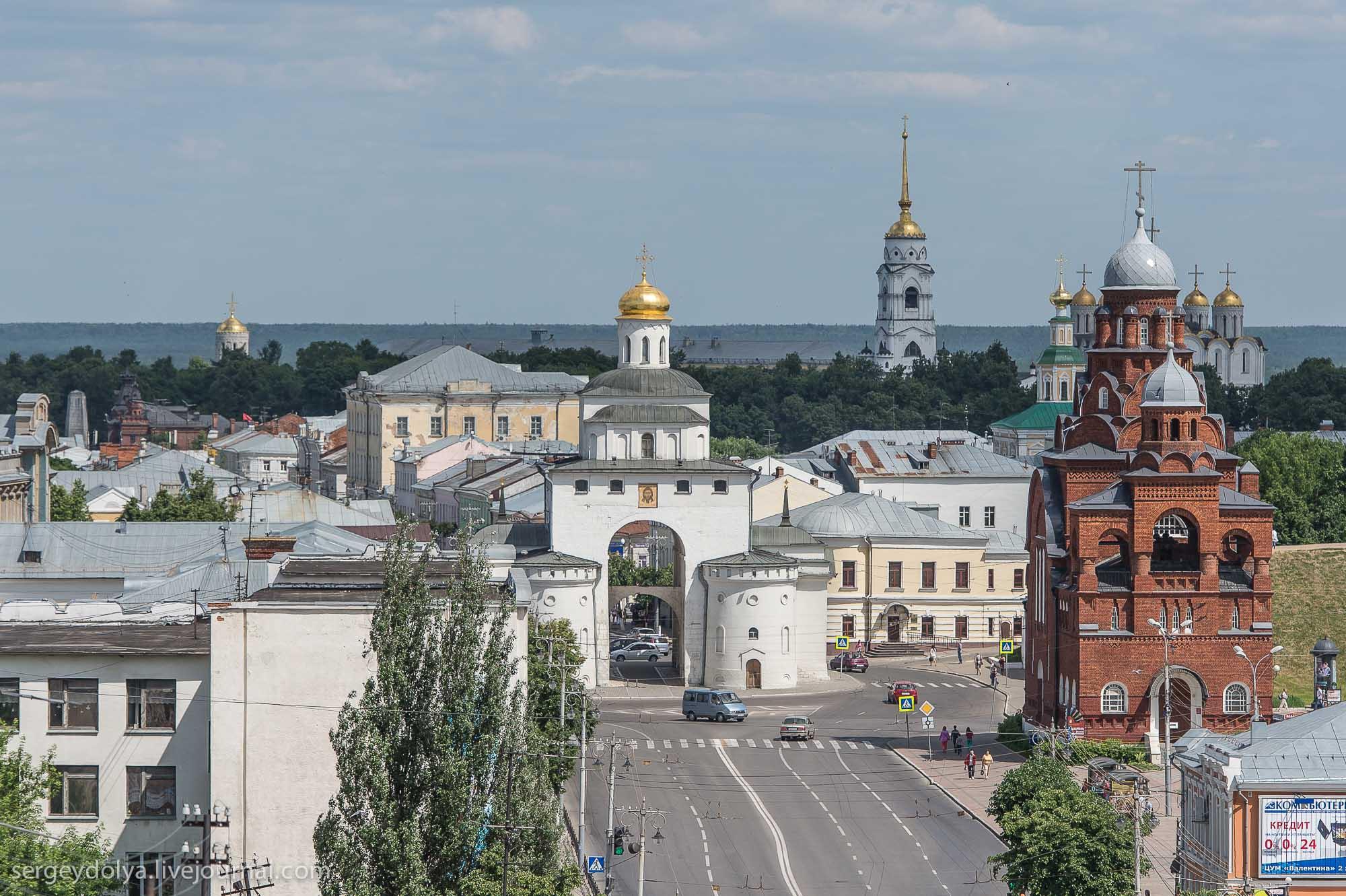 Владимир - город Золотого кольца, достопримечательности ...