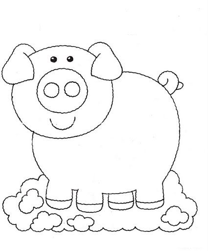 картинки для раскрашивания для детей 3-4 лет животные года