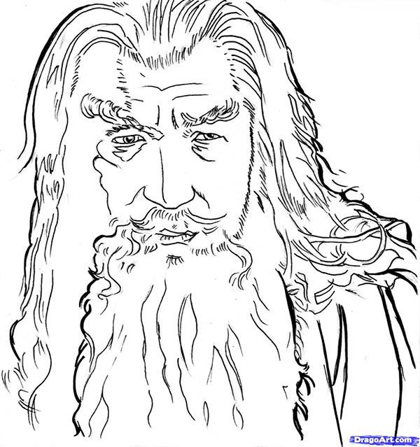 Hobbit stencils