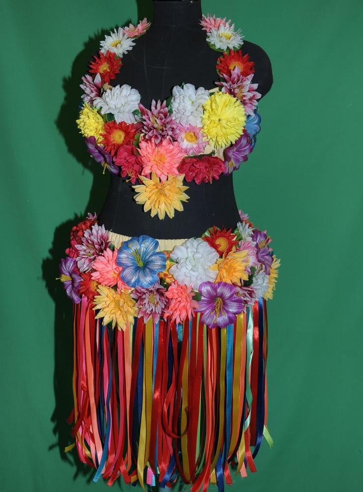 Костюм для гавайской вечеринки своими руками