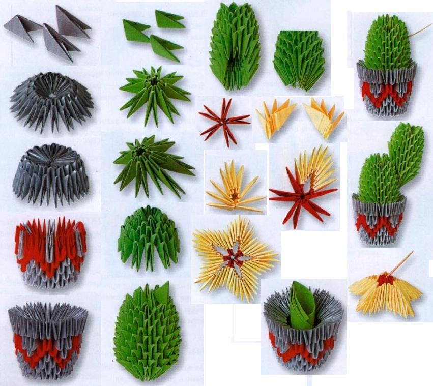 Картинки оригами цветы 6