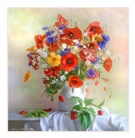 названия полевых цветов с картинками: