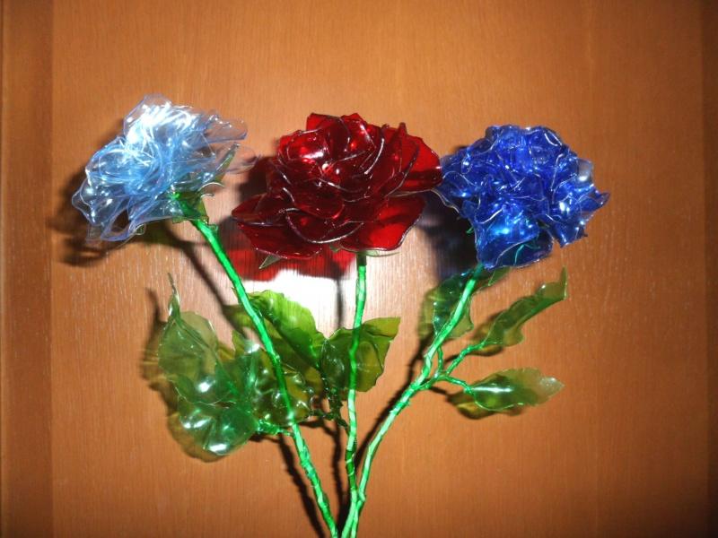 Поделки своими руками цветы из пластиковых бутылок для сада