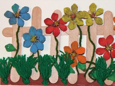 Цветы своими руками из подручных материалов с фото