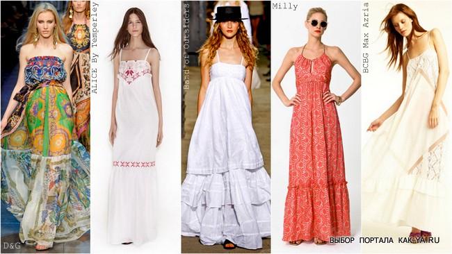 Летние платья в пол Платье и платья для Вас! Платья могут быть прямыми а могут представлять собой сарафаны которые