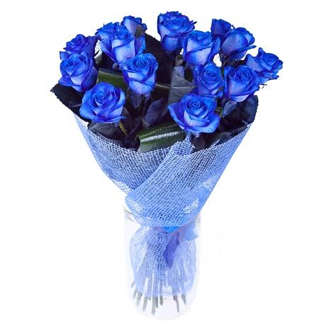 Картинки синие розы букеты большие и красивые - 8acc