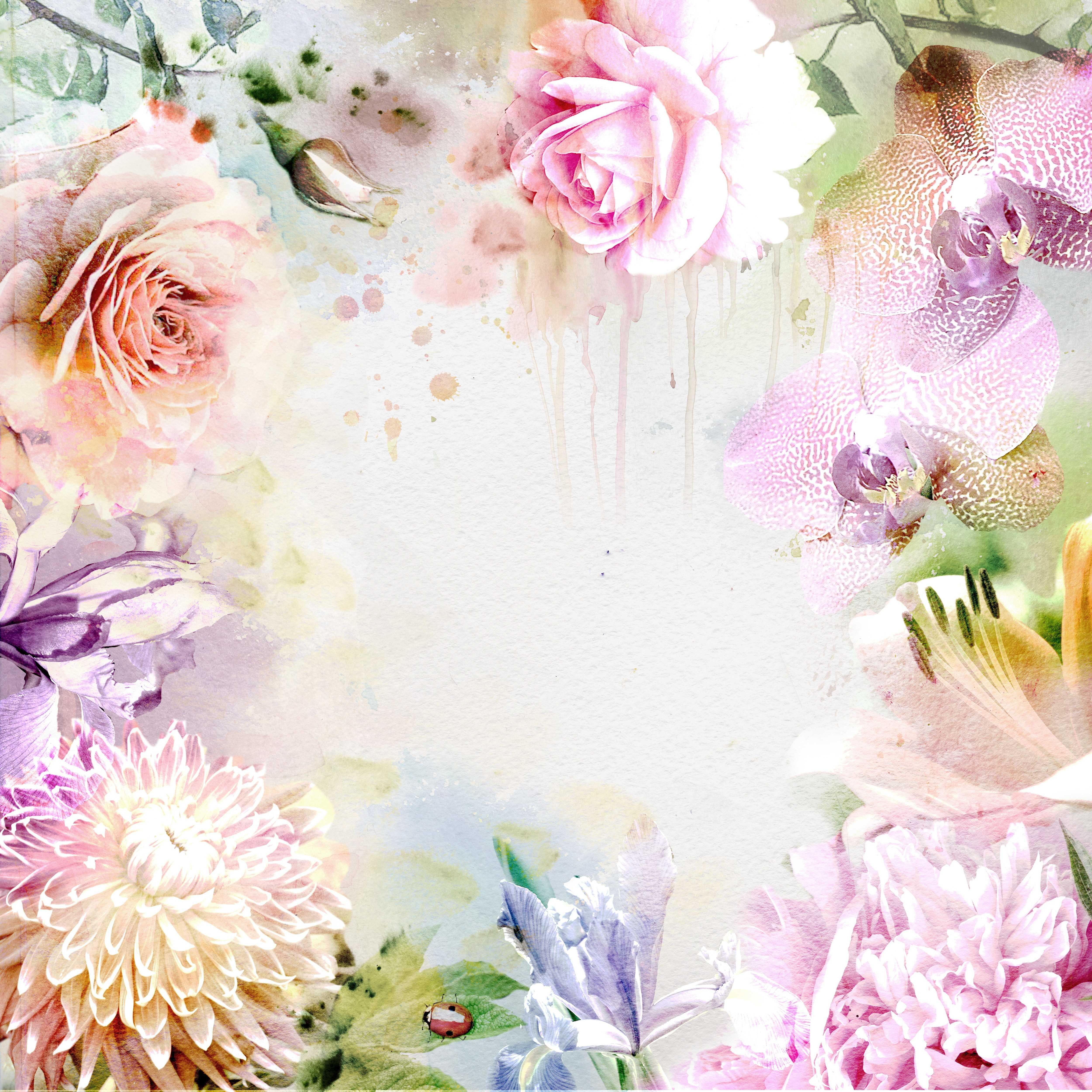 Цветы чб рисунки 5