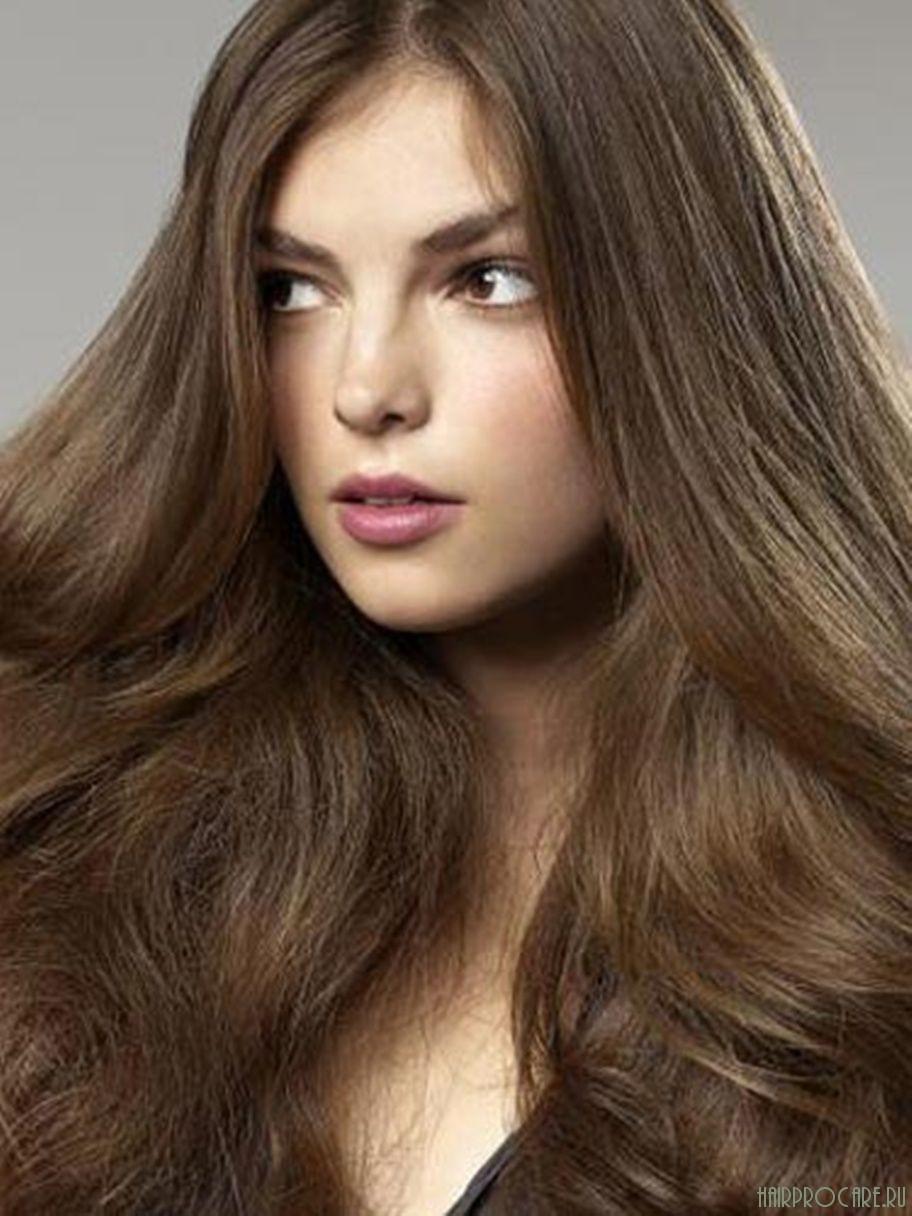 Цвет волос средний шатен