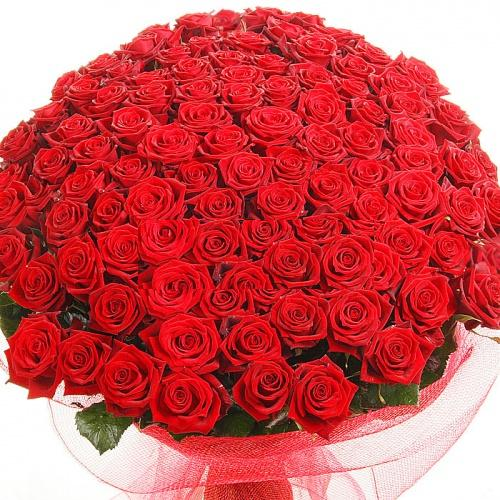 Большой красивый букет цветов