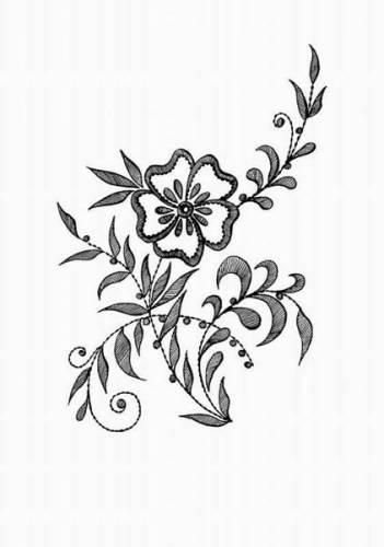 рисунки простым карандашом цветы: